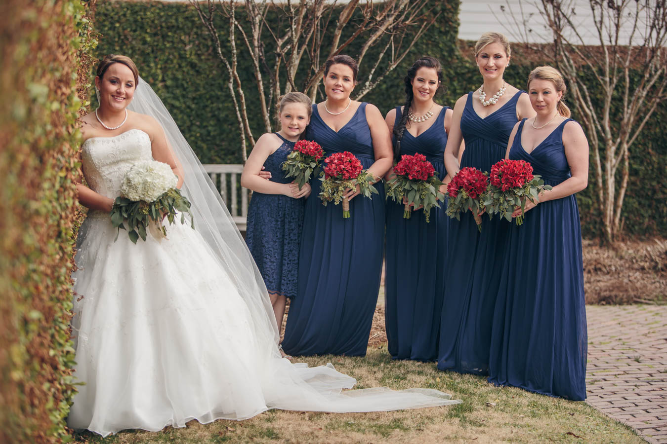 Bridesmaids at Dunes West