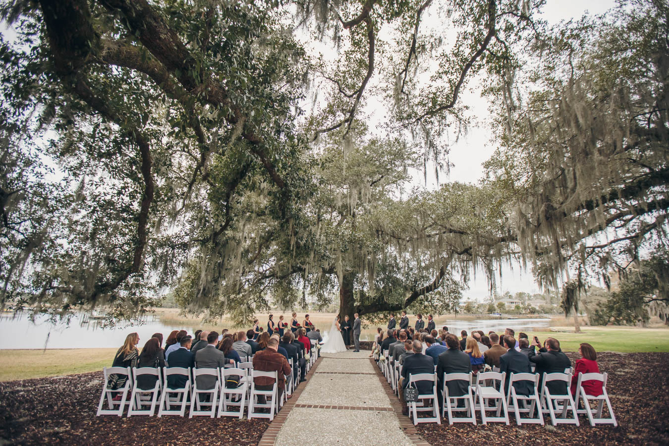 Married under the Oak Tree at Dunes West