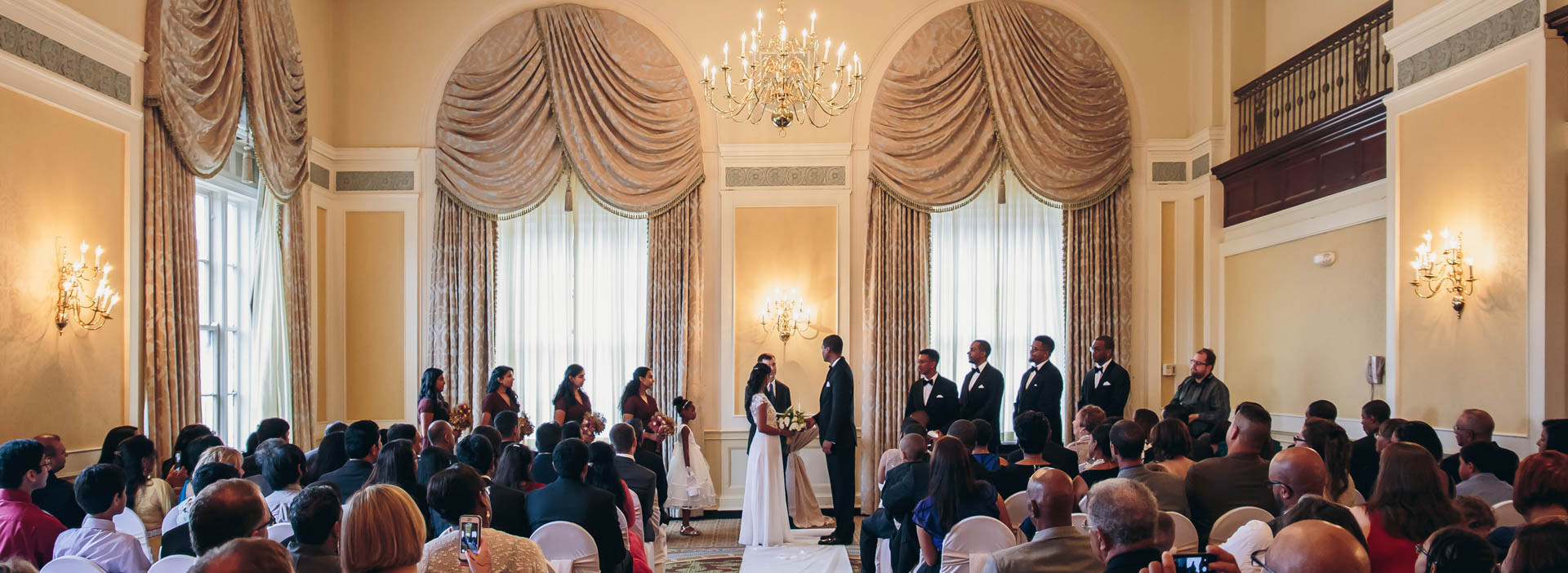Francis Marion Hotel Ceremony Photography