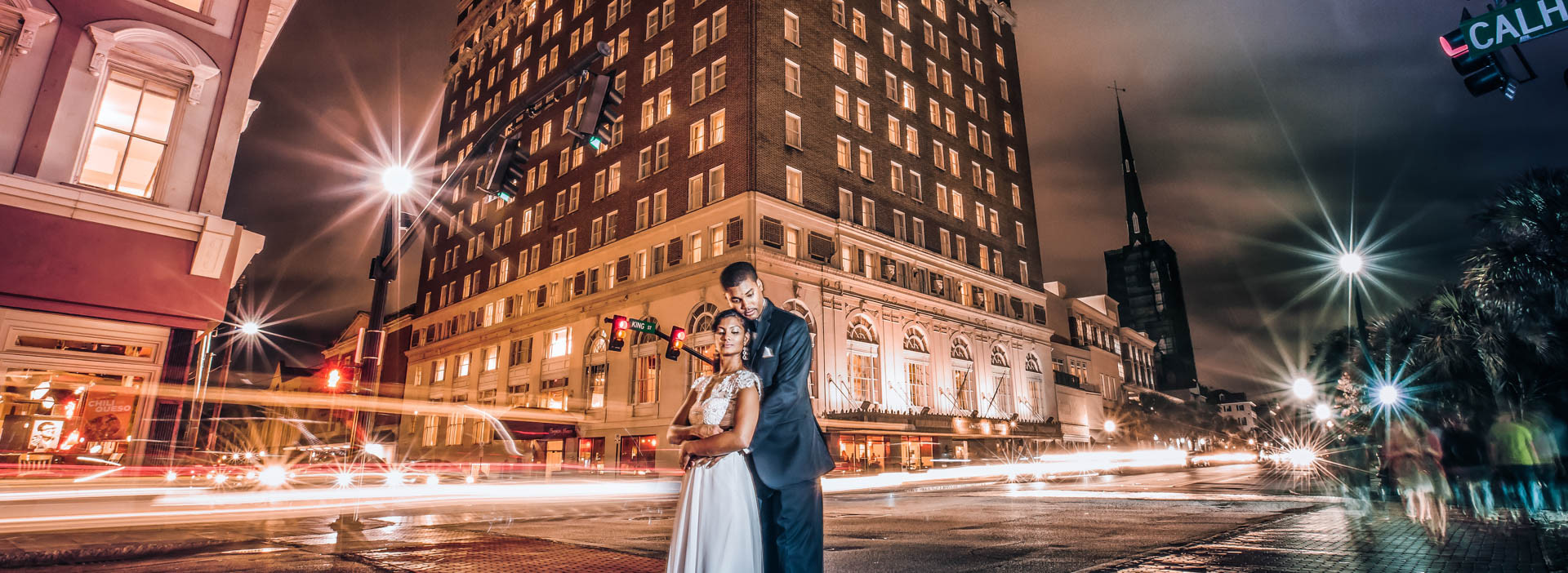 Francis Marion Hotel Wedding Photography