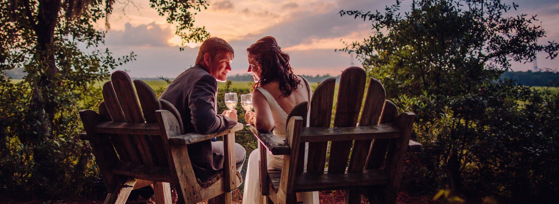 Creek Club at I'On Charleston Wedding Photographer