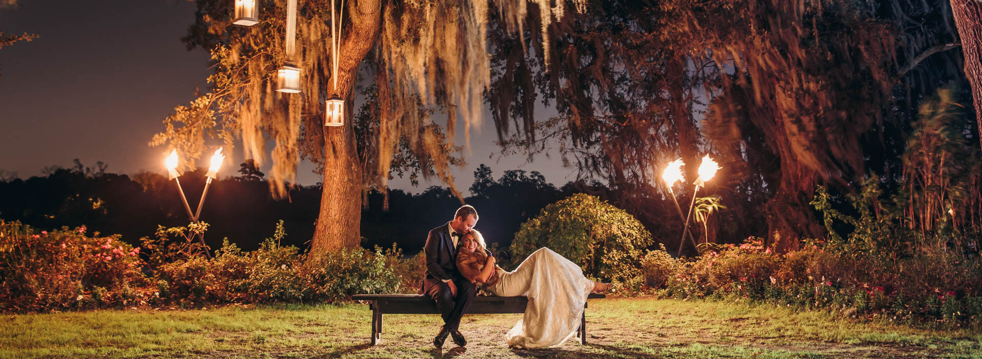 Wedding Photography Magnolia Plantation
