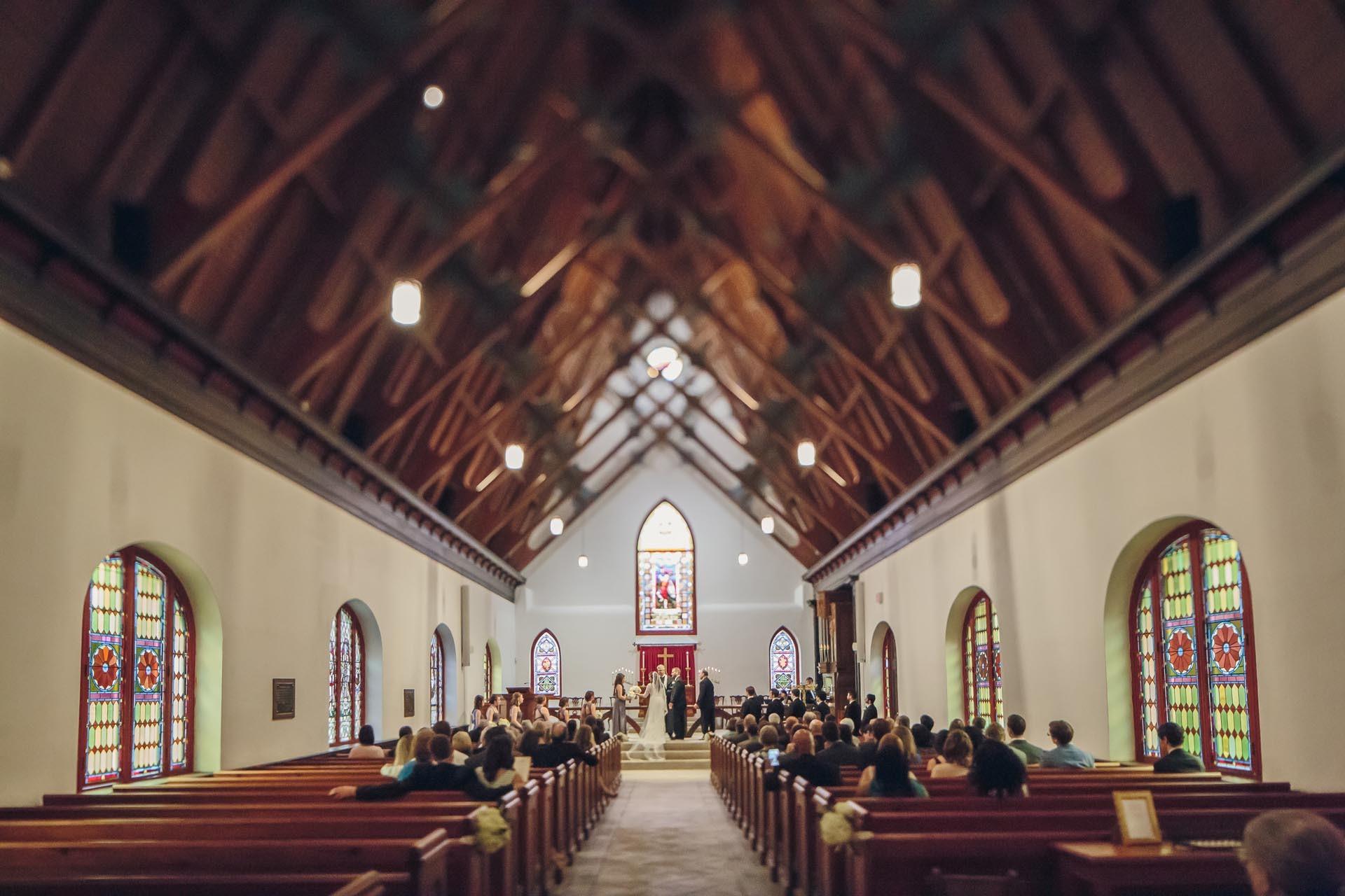 Charleston Church Wedding