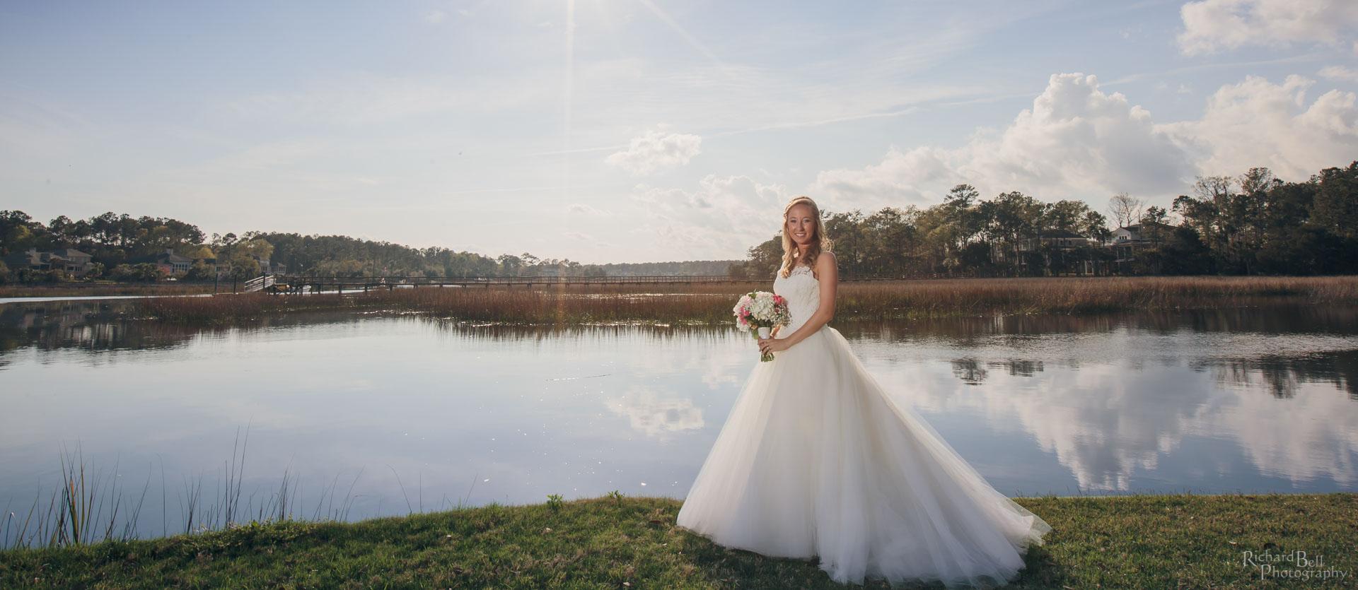 Bride at Dunes West