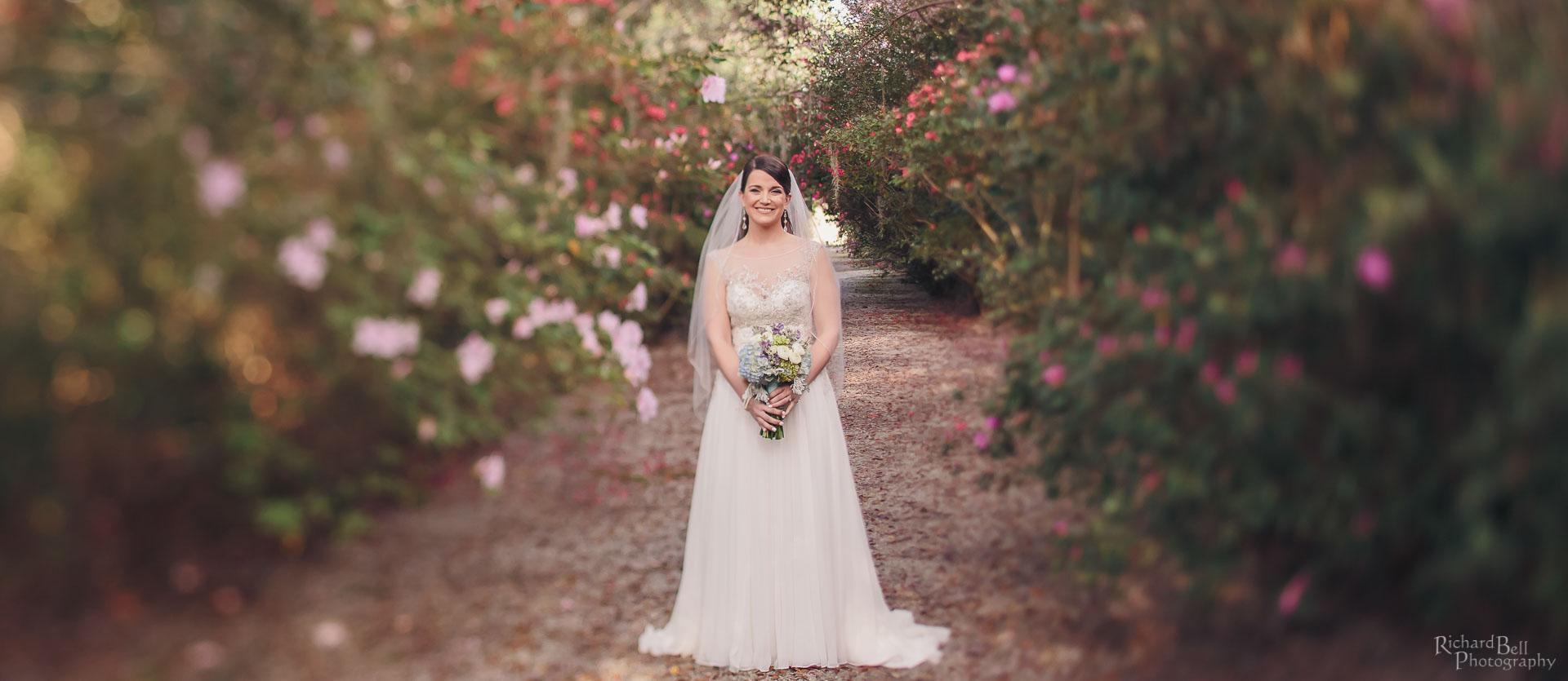Bride at Magnolia Plantation