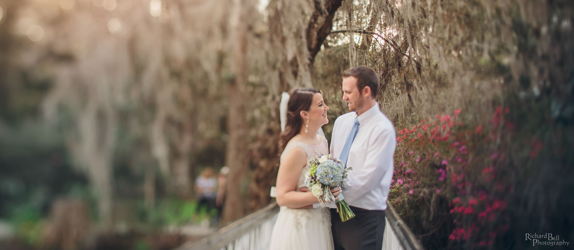 Katherine and John on the White Bridge