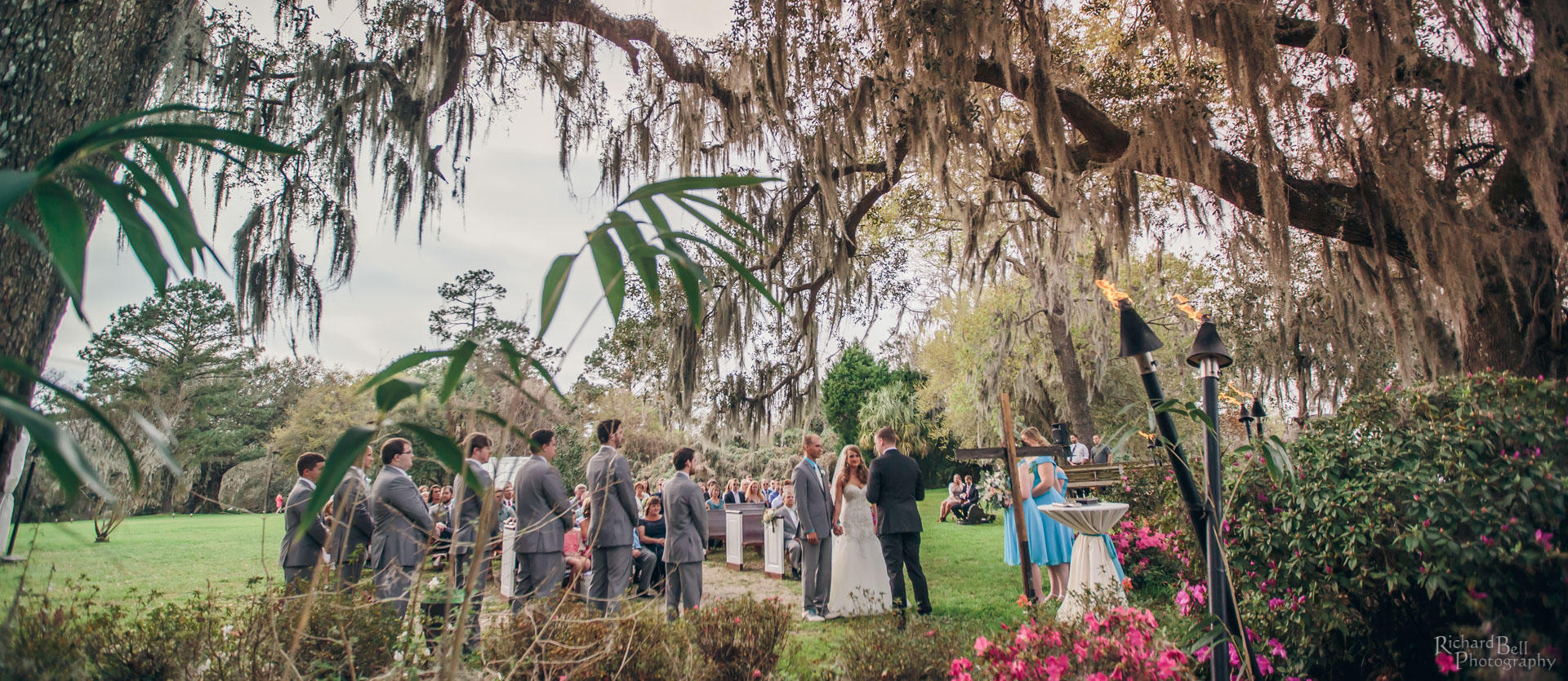Voorhees Ceremony at Magnolia Plantation