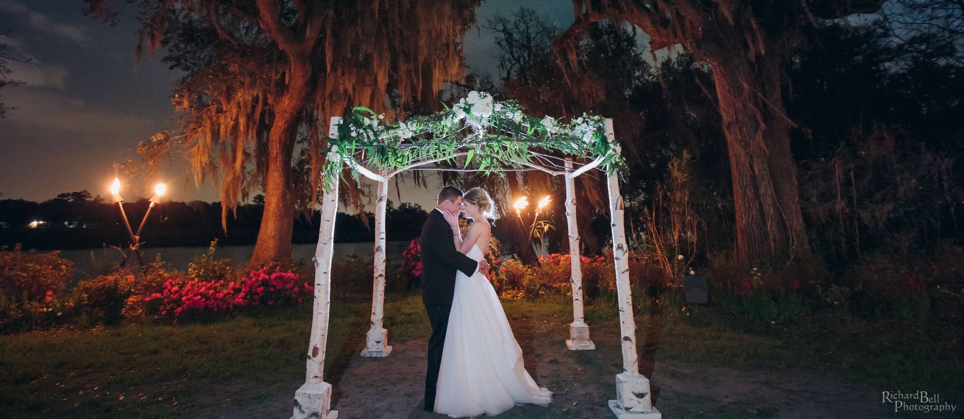 Bride and Groom Chuppah