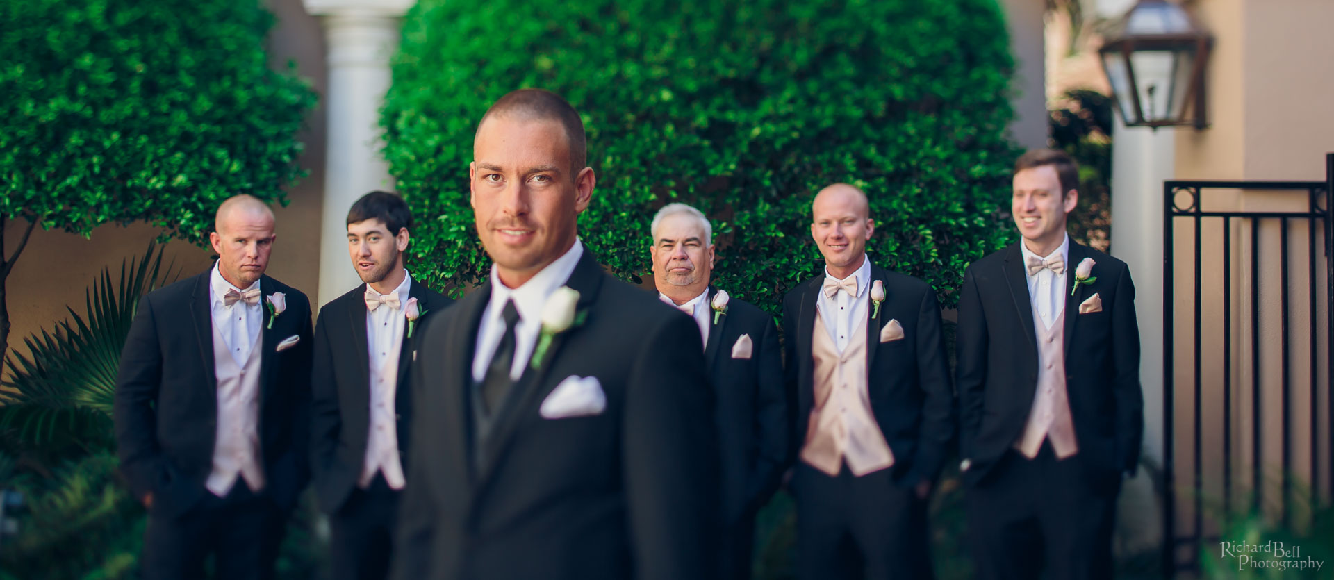 Christian and the groomsman
