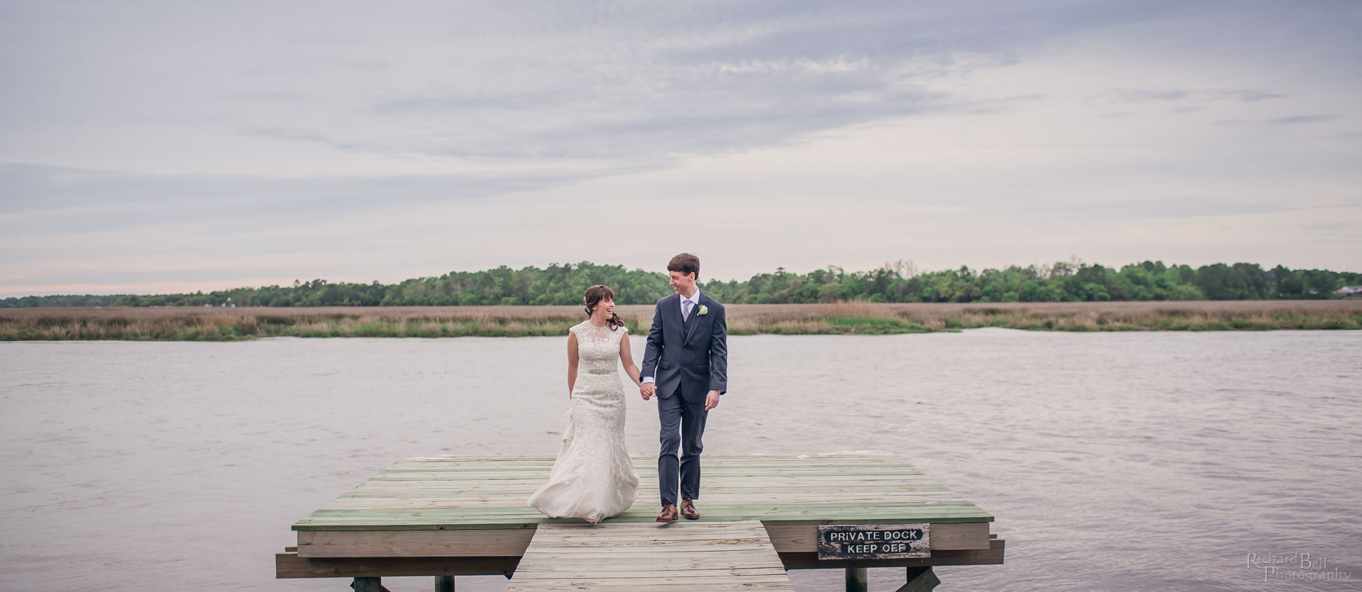 Dock with Bride and Groom