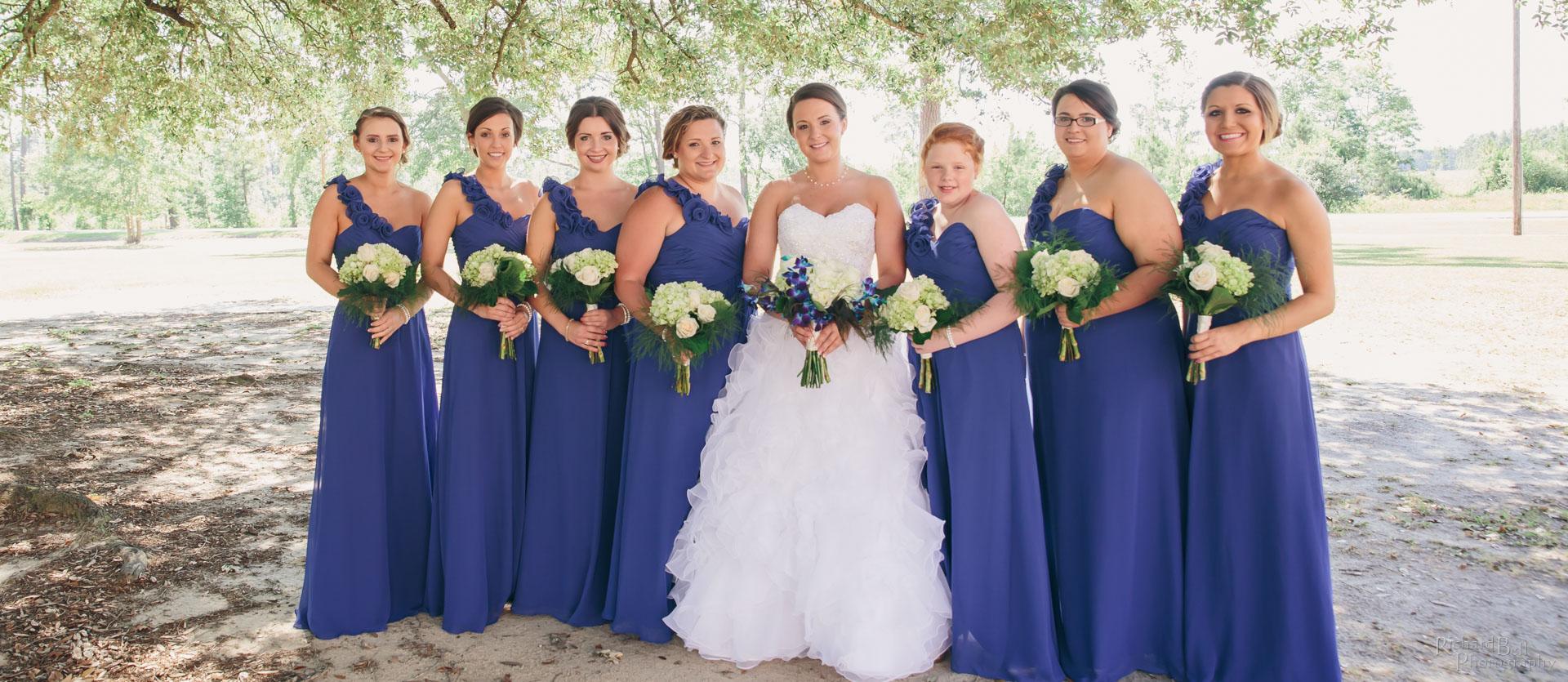 Ashlyn and Bridesmaids