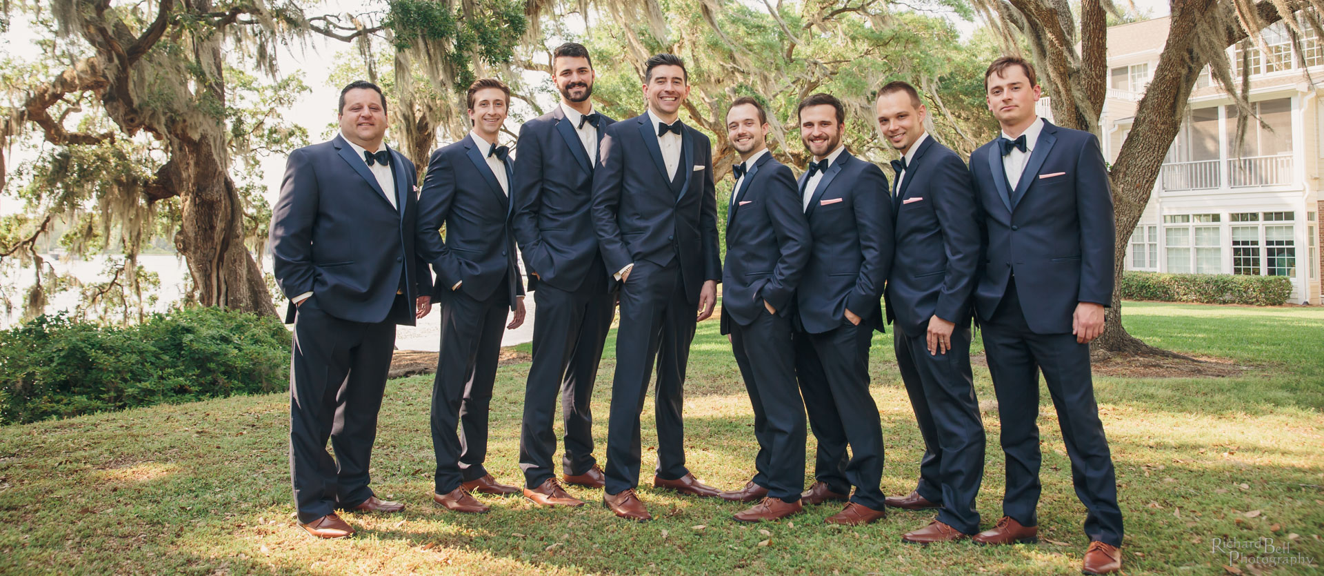 Cameron and Groomsmen