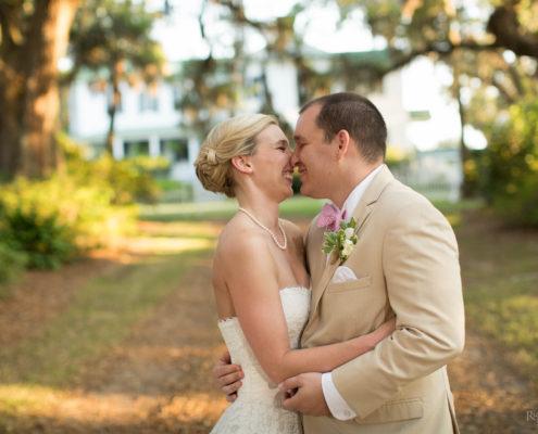 Edisto Bride and Groom