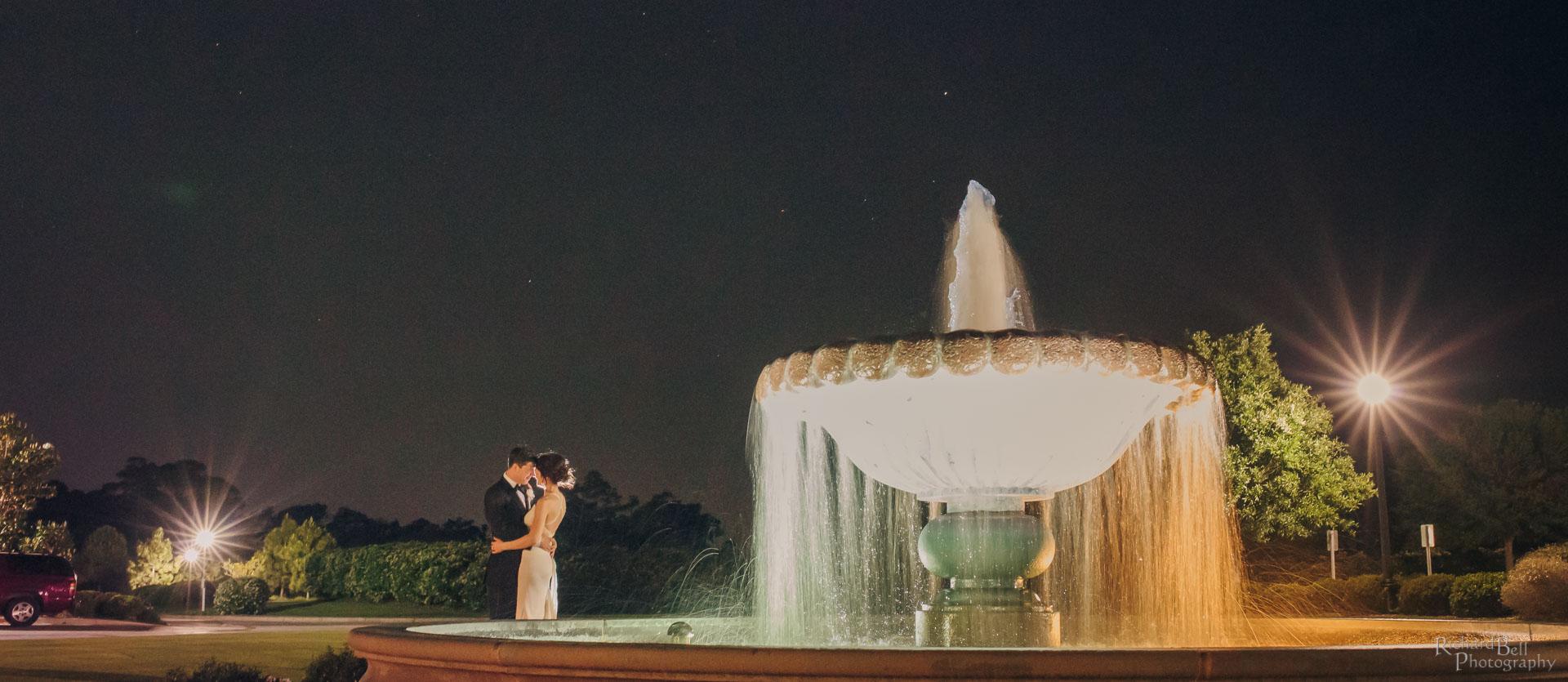 Night at Fountain