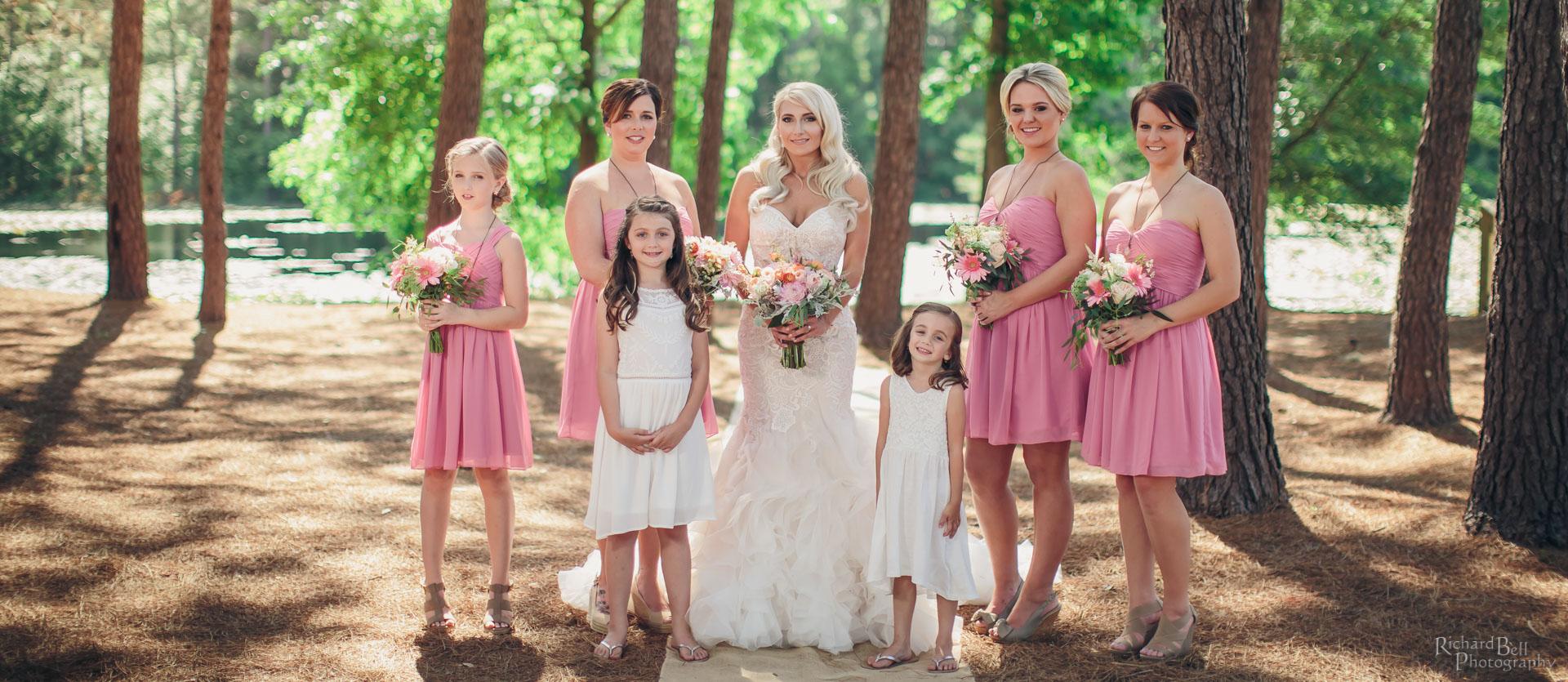 Olivia and Bridemaids