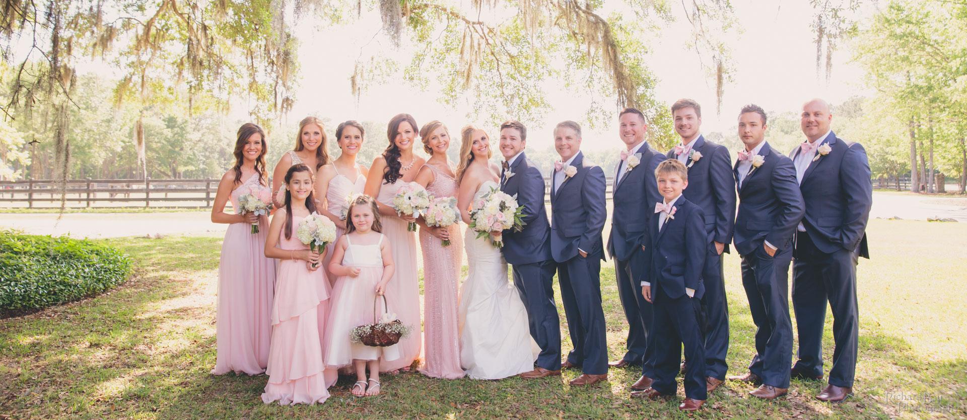 Tyson wedding party