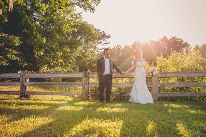 Bride and Groom at Pepper Plantation