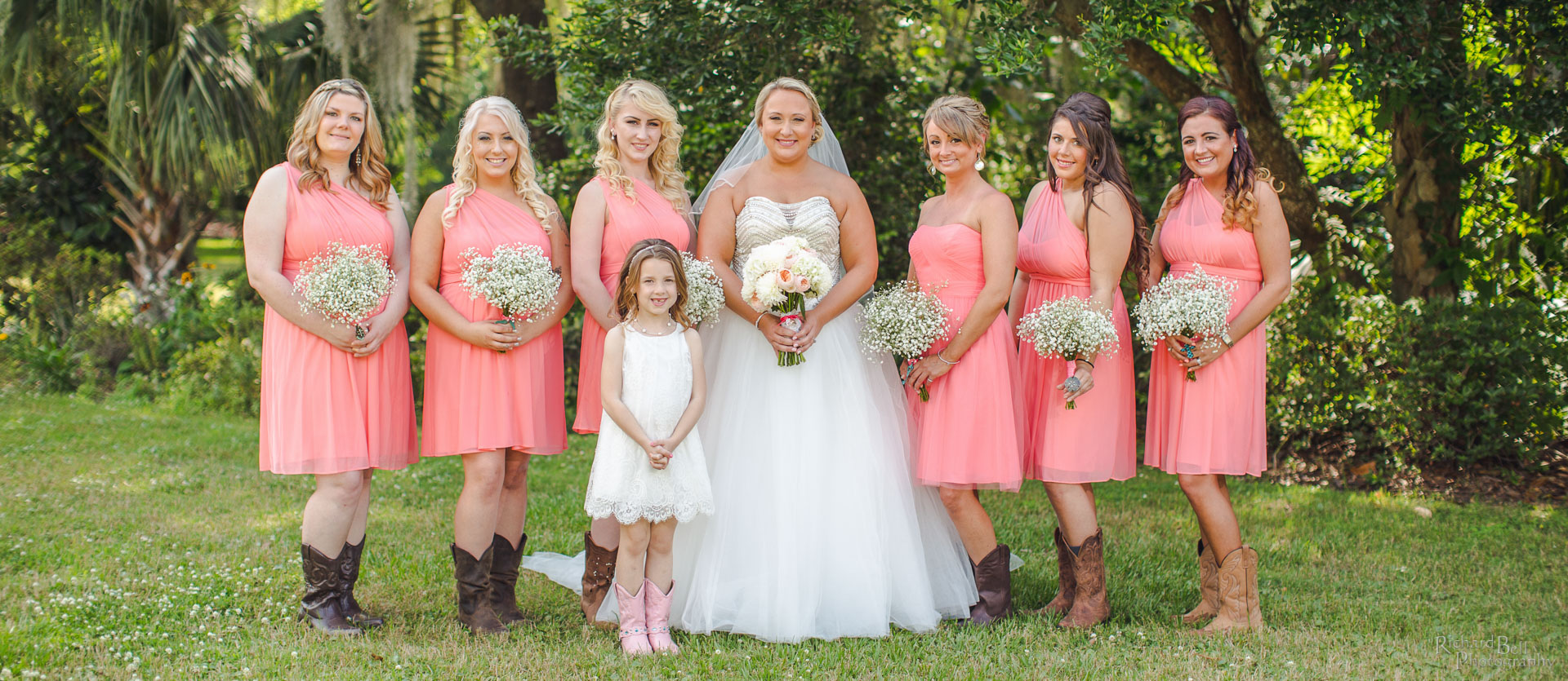 Brandy and her bridesmaids