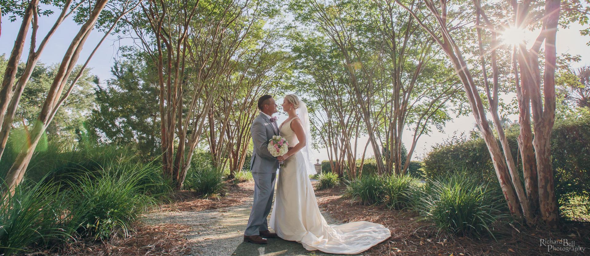 Bride and Groom at Harborside East