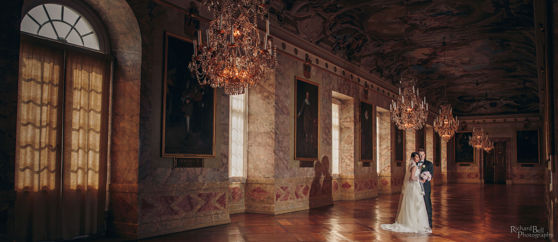 Bride and Groom at Ludwigsburg Palace