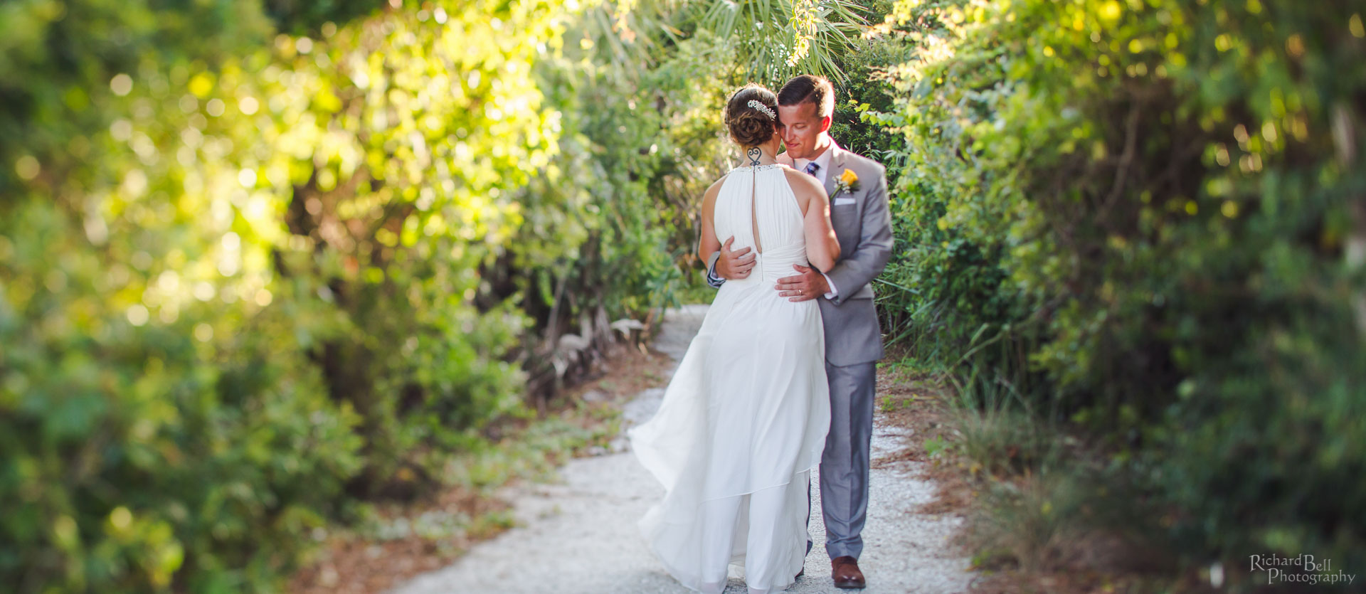 Bride and Groom at Wild Dunes