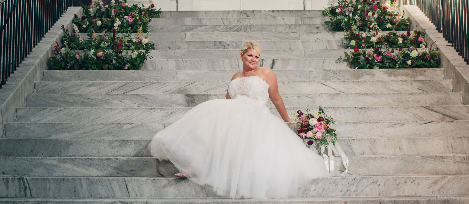 Bride at Charleston Library Society