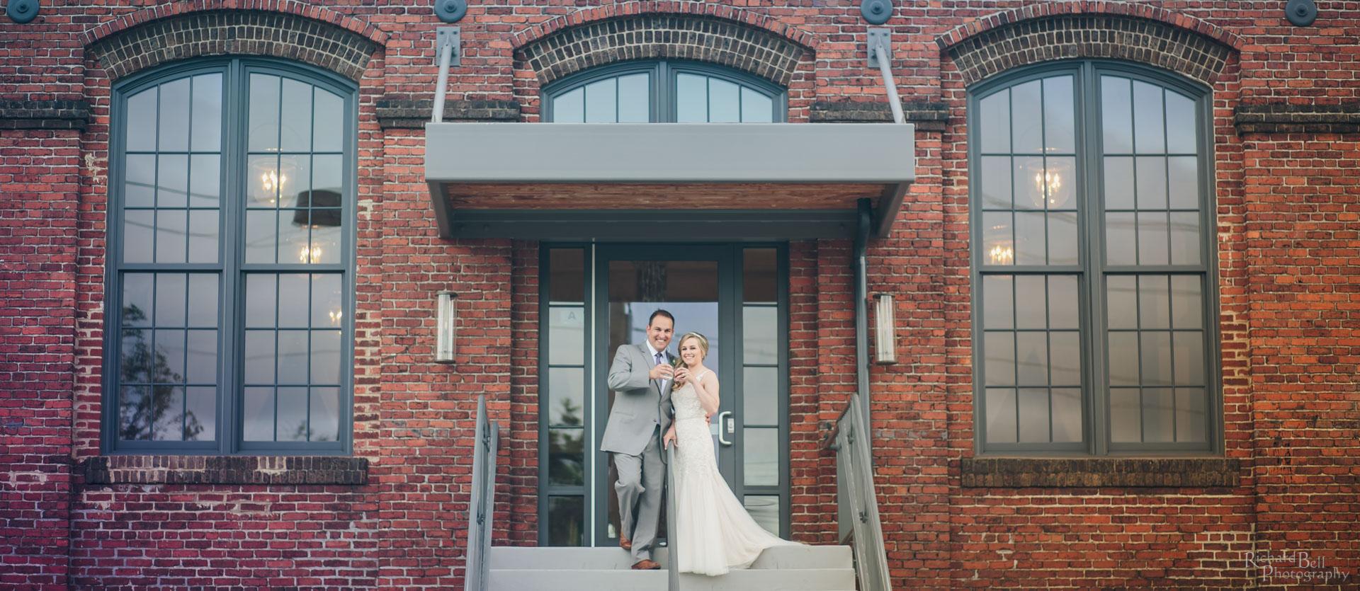 Cedar Room Bride and Groom
