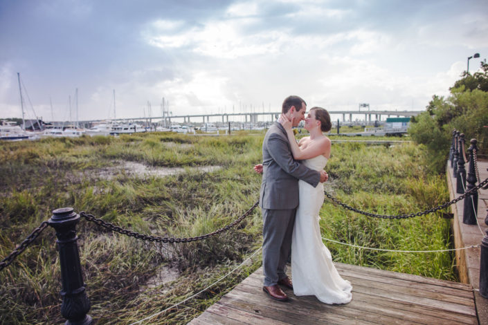 Bride and Groom at Rice Mill