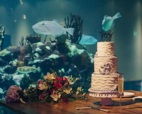 Reception at South Carolina Aquarium
