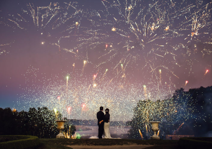 Middleton Place Wedding Fireworks