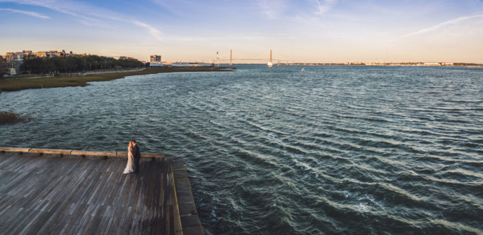 Wedding Drone Photography in Charleston, SC