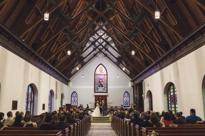 Wedding At St. Luke's Chapel in Charleston