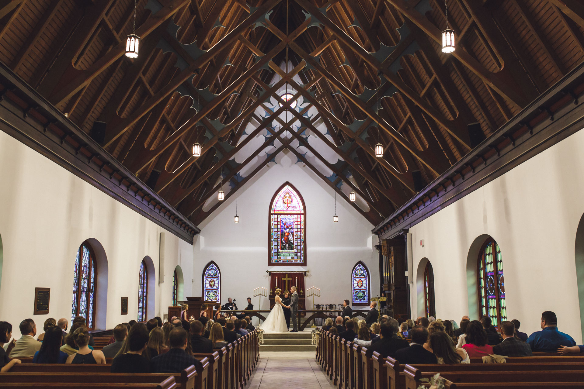 Wedding At St. Luke's Chapel in Charleston