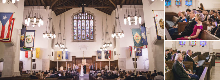 Summerall Chapel Ceremony