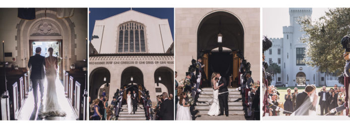 Ceremony at Summerall Chapel