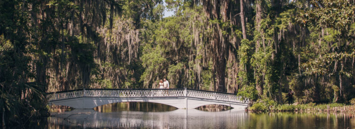 White Bridge Spring Wedding