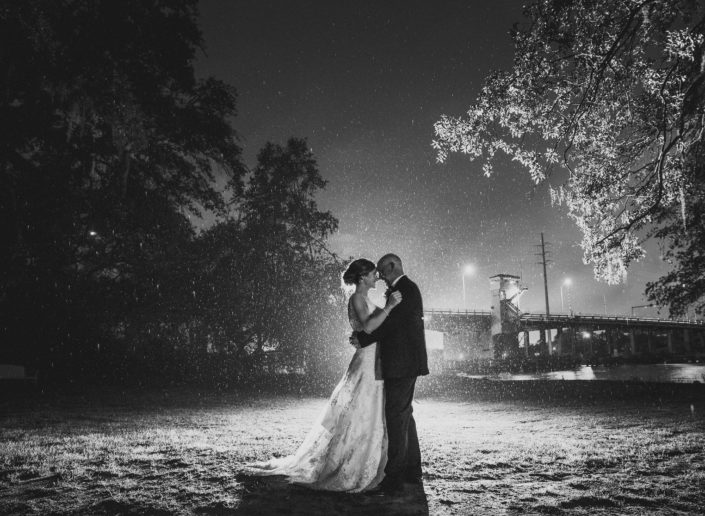 Charleston Rain Wedding