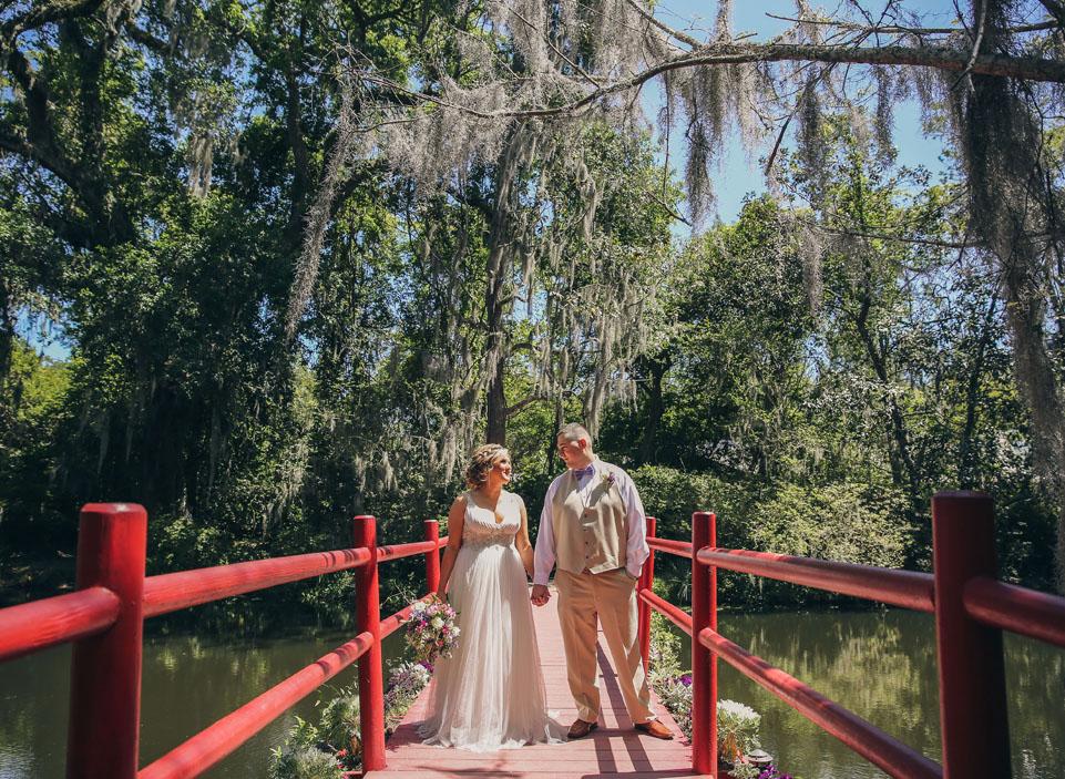 Magnolia Plantation Red Bridge