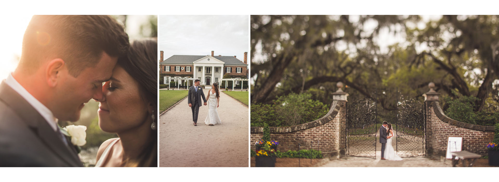 Spring Boone Hall Wedding