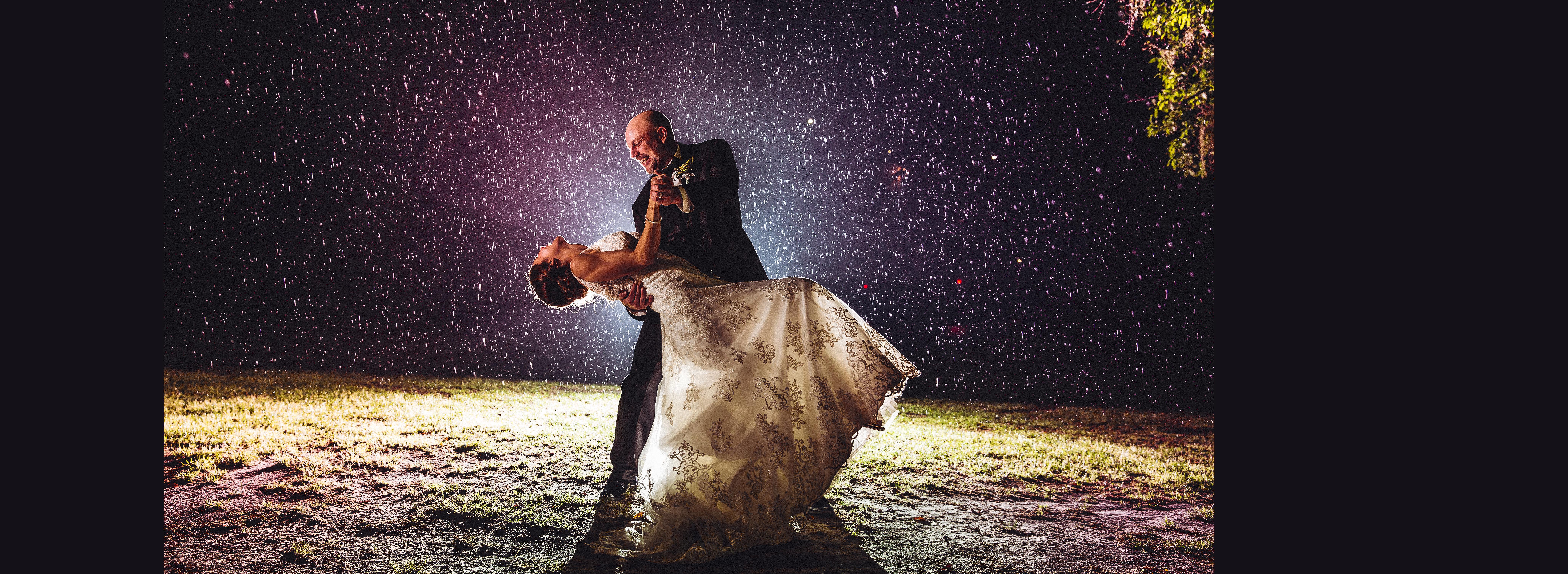 Spring Rain Wedding
