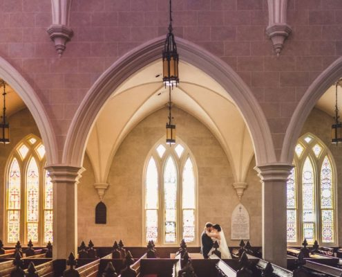 Wedding Ceremony At Grace Episcopal Church, Charleston, SC