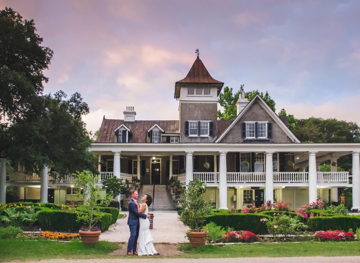 veranda wedding