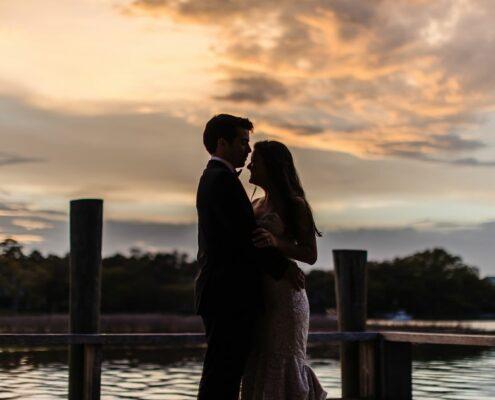 Wedding at Boone Hall Plantation Cotton Dock