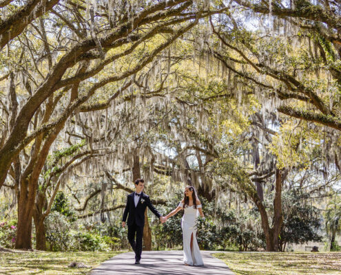 Elopement Ceremony at Charles Towne Landing