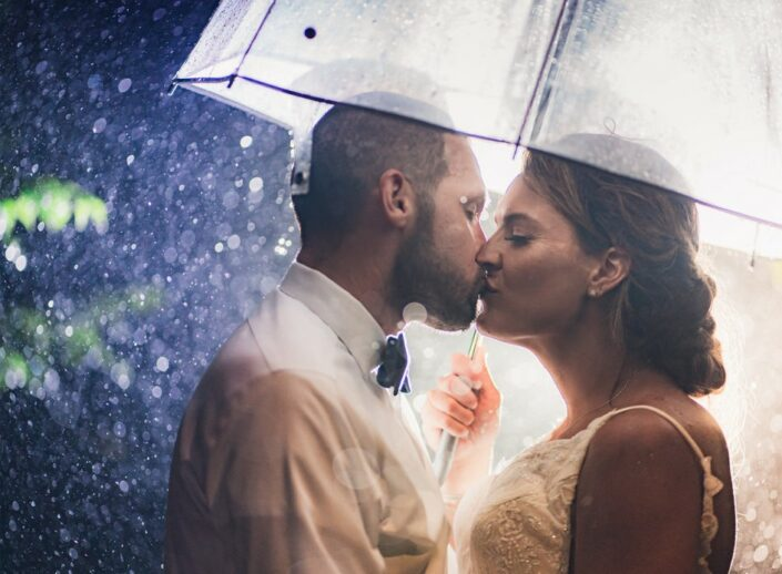 Rainy Day Wedding at Legare Waring House in Charlestowne Landing