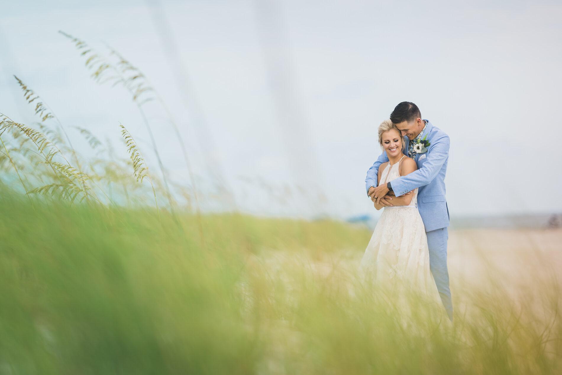 Wedding Photography at Wild Dunes Beach